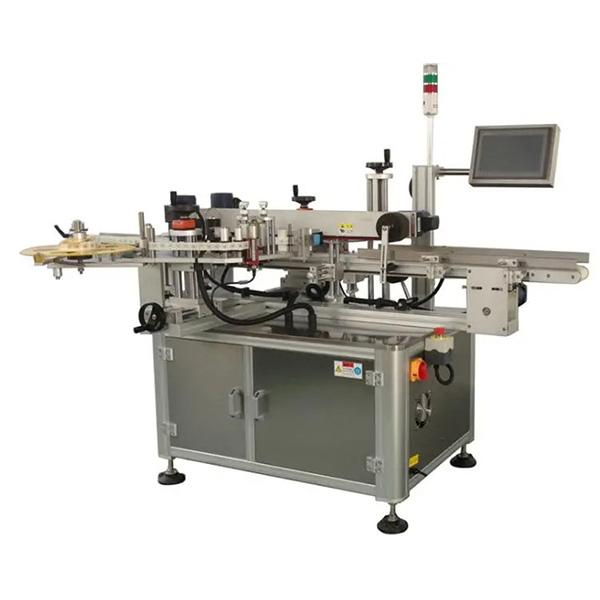 Automatický rohový etiketovací stroj s kartonovou krabicí