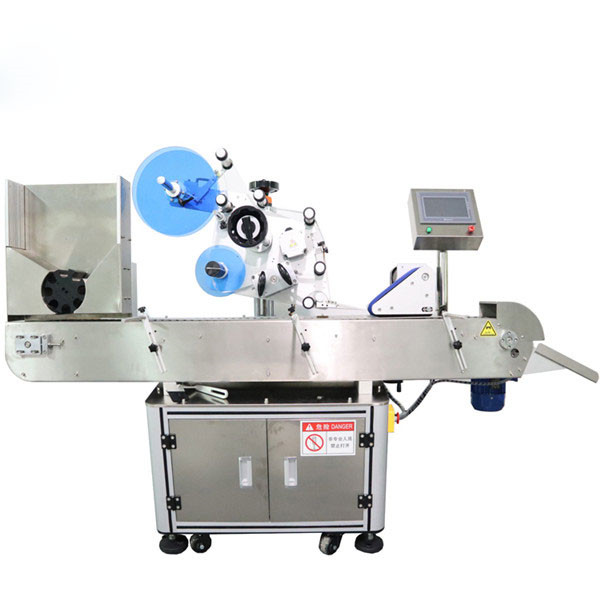 Automatický stroj na označování štítků s vodorovnou lahvičkou