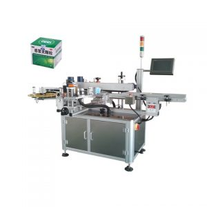 Automatic Handle Bucket One Side Labeling Machine
