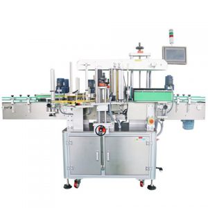 Full Clothing Tag Surface Top Side Labeling Machine