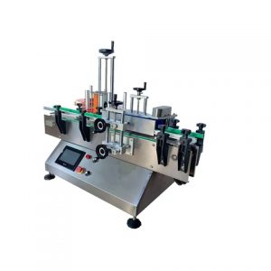 Manufacturing Full Double Sides Flat Square Bottles Labeler