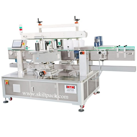 Plastic / Glass Bottle Small Labeling Machine Double Side...