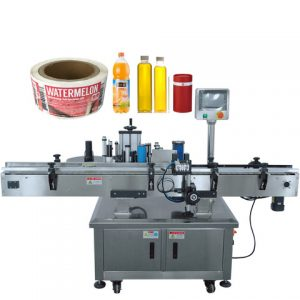 Essential Oil Bottle Sticker Labeling Machine