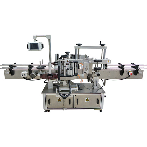 Double Side Sticker Labeling Machine for Flat Bottle - N.K. Industries