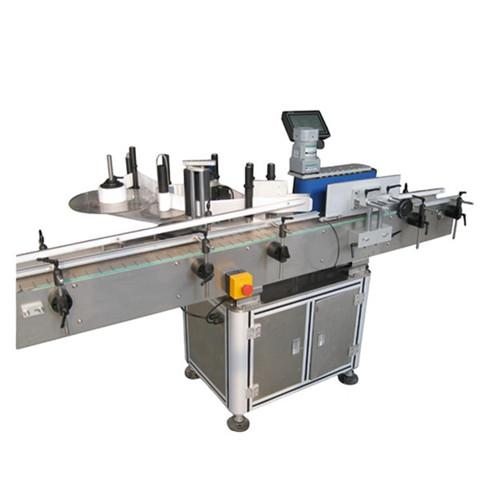 Front & back Linear Labelling Machine - ALTECH Labelling Systems...