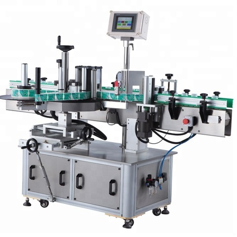 Automatic round container OPP hot melt glue labeling machine for...