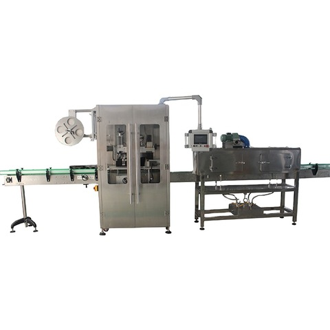 Double side vertical labelling machine