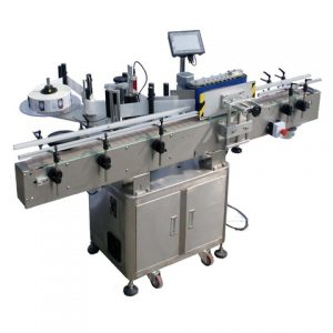 Pvc Pouch Labeling Machine