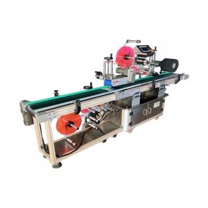 Plastic Box Sticker Labeling Machine