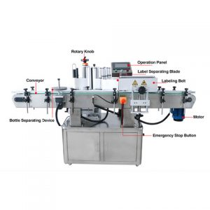 High Speed Labeler Machine