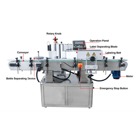 Label cutting and folding machine - Chino Machinery