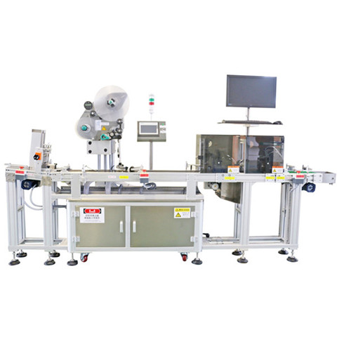 Automatic Two Side Flat Bottle Sticker Labelling Machine...
