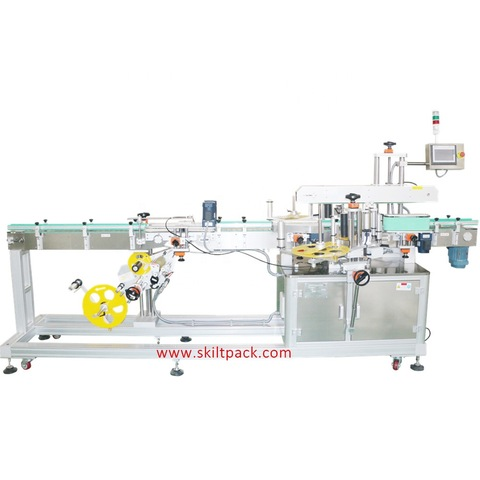 Automatic Double Sides Labeling Machine with Code Printer
