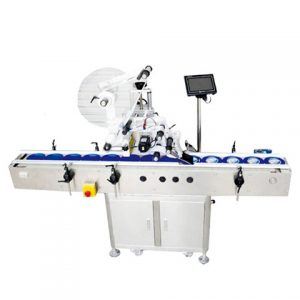 Samolepka Instant Noodles Cap Top Surface Labeling Machine
