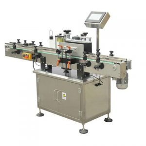 Jars Front Back Top Labeling Machine