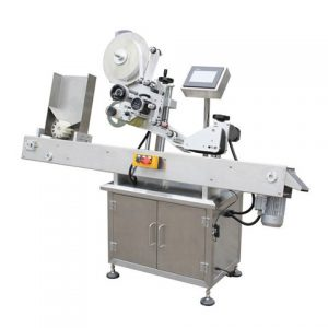 Round Bottle Chili Sauce Labeling Machine