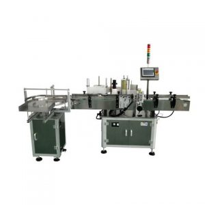 Egg Box Sticker Labeling Machine