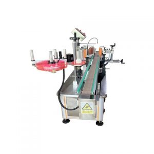 Automatic Can Bottle Paste Labeling Machine
