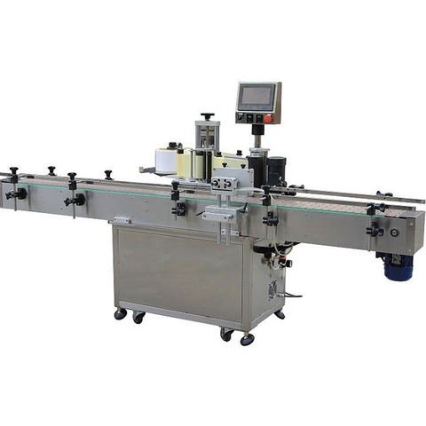 Omron detect eye automatic round bottle sticker labeling machine...