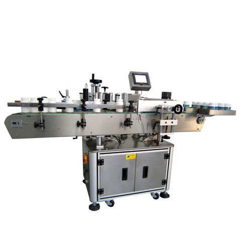 CE approved manual round jar can bottle labeling machine with date...