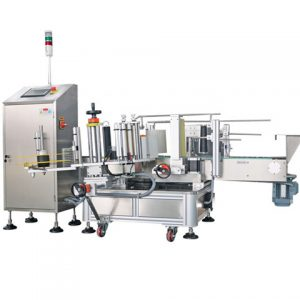 Wines And Spirts Liquid Bottle Labeling Machine