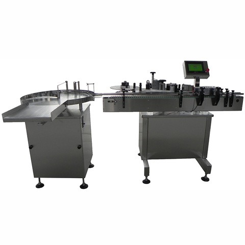 Double Side Sticker Labeling Machine For Flat Bottles...