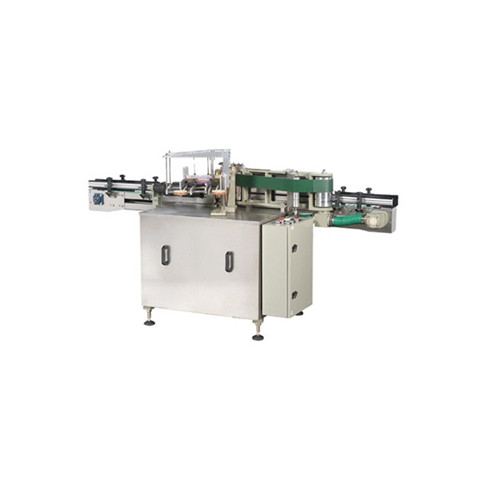 Automatic cap labeling machine