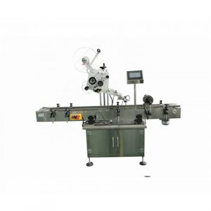 Automatic Round Bottle Labeling Machine With Feeder Turntable
