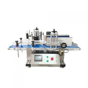 Foil Bag Top Bottom Side Labeling Machine