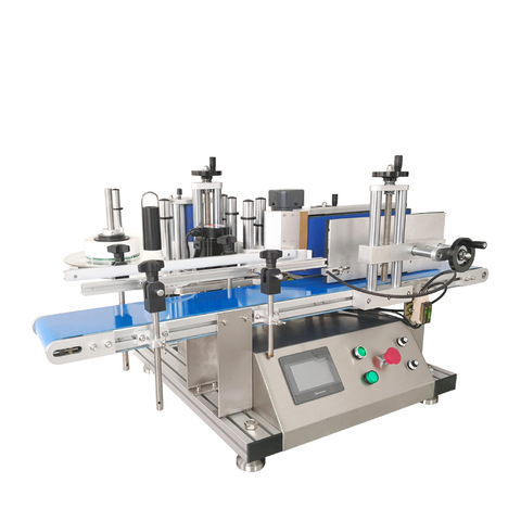 Sanitizer Round Bottle Sticker Labelling Machine With Batch...