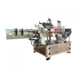 Fruit Dish Top And Bottom Labeling Machine
