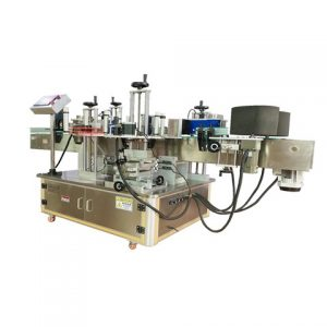 Sticker Ziplock Zipper Pvc Poly Bag Labeling Machine