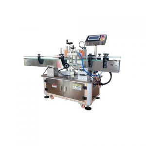 Top Labeling Machine Sticker Applicator For Pouches