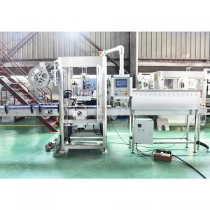 Auto Positioning Sticker Labeling Machine Shanghai