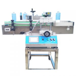 Automatic Film Roll Rewinding Labeling Machine