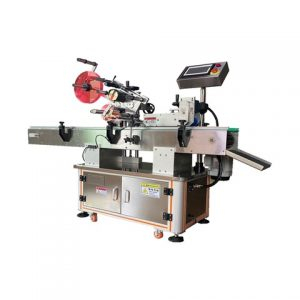 Automatic Round Bottle Paste Labeling Machine