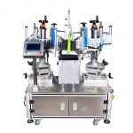 Oil Bottle Double Sides Labeling Machine