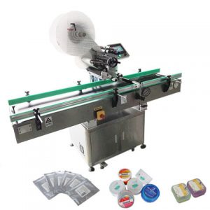 Automatic Adhesive Pet Round Bottles Label Applicator
