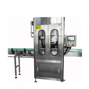 Automatic Powder Box Labeling Machine