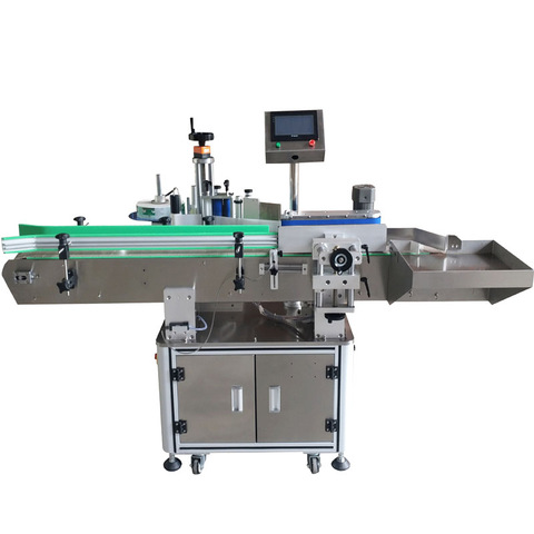 Double sides labeling machine for flat bottles | Products | PESTOPACK