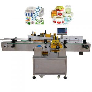 Hot Sauce Can And Bottle Labeling Machine