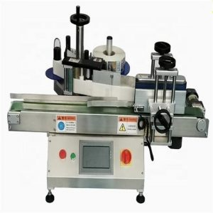Care Products Round Jars Sticker Labeling Machine