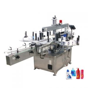 Round Square Flat Pet Bottle Labeling Machine