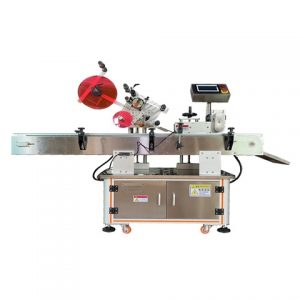 Beverage Bottle Top Surface Label Machine