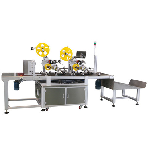 220V 50 / 60Hz Fully Automatic Labeling Machine For Labeling...
