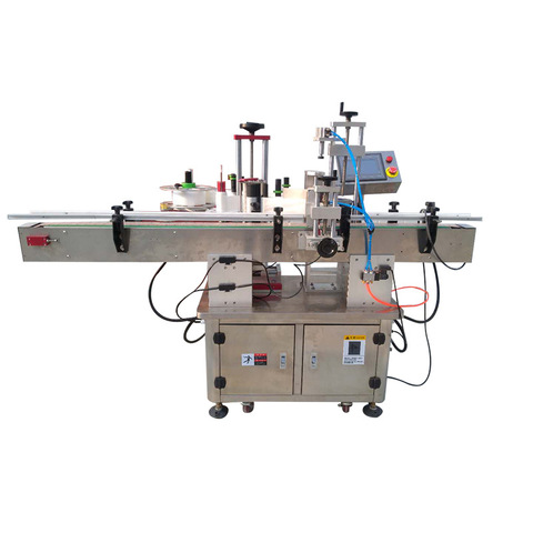automatic wet glue labeling machine suppliers round container wrap...