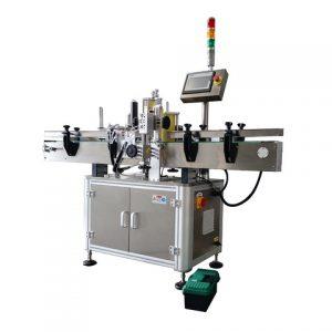 Stroj na označování kulatých lahví s kodérem na kosmetiku