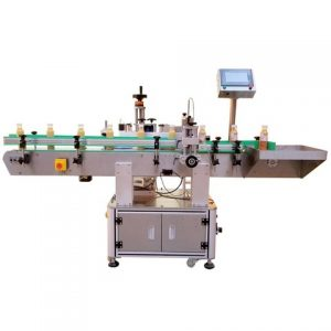 Automatic Aerosol Bottle Labeling Machine