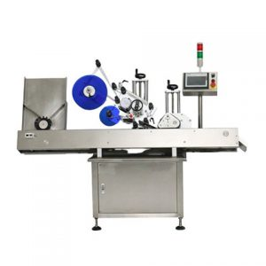 Automatic Flat Labeling Machine For Tags