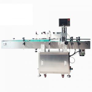 Tomato Sauce Dried Fruit Round Bottle Labeling Machine